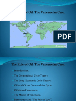 """Venezuela and """"The Rule of Oil"""" vs """"The Rule of Law"""""""
