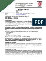 Examen Parcial 2015-II