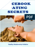 Facebook Dating Secrets - For Men and Women by Healthy Relationship Initiative