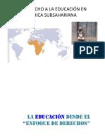 Derecho a la Educación en Africa Subsaharians.pptx