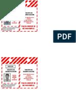 Formato Tarjetas de Bloqueos