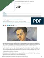 Críticos de Arte Discutem a Sua Trajetória Em Evento Na USP – Jornal Da USP