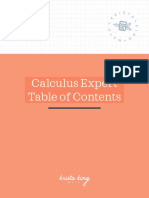 Calculus+Expert+TOC