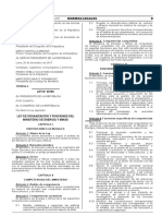 Ley de Organización y Funciones del Ministerio de Energía y Minas