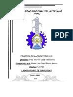 Informe 06 Lab Circuitos I