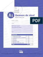 Examen escrito ELE