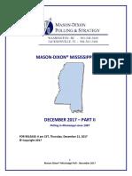 Mason-Dixon MS Poll Part 2