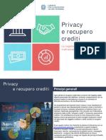 Privacy e Recupero Crediti - Il Vademecum