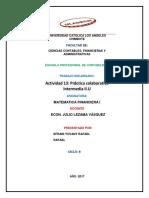 Actividad 13 Práctica Colaborativa Intermedia II.U