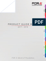 FOR A Products Guidebook 2017 En