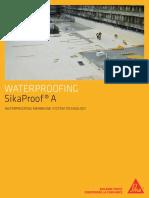 SikaProofA Eng Brochure