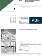Replacing DSC III Yaw Sensor (DSC Sensor)-2003
