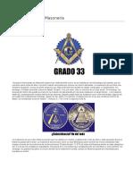 Grados Masonicos