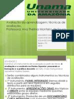 SLIDES Avaliação da aprendizagem.pptx