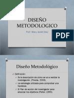 DISEÑO METODOLOGICO
