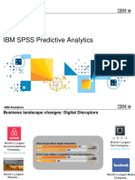 IBM SPSS Predictive Analytics