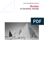 SUDAN a country study