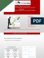 Presentación estructura financiera