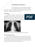 Foreign Bodies of the Airway