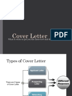 6 Cover Letter