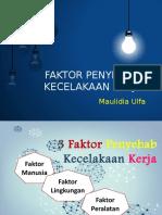 FAKTOR PENYEBAB KECELAKAAN KERJA.pptx