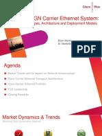 The NGN Carrier Ethernet System