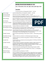 2018 Christmas Tree Municipal Programs