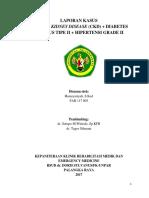 CKD + DM TIPE II + HT
