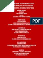 I  CUMBRE PROVINCIAL DE ORGANIZACIONES SOCIALES.docx
