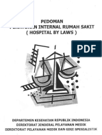PEDOMAN HOSPITAL BY LAW