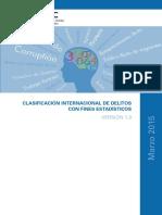 Clasificación Internacional Del Delito