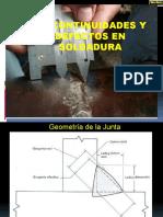 12ava Sesion Discontinuidades y Defectos en Soldadura
