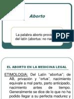 Aborto 2011 ucv