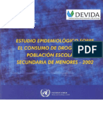 CEDRO - Estudio Epidemiológico en Escolares 2002