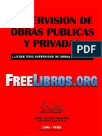 Miano Montero, Oscar E. - Supervisión de Obras Públicas y Privadas (2011)