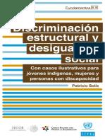 Discriminacionestructural Accs
