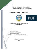 El Comercio - Monografia2