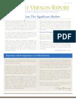 The Mount Vernon Report Spring 2005 - vol. 5, no. 2