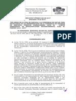 Resolucion 066 de 2017 Estratificacion