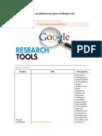 10 Buscadores Académicos Para Trabajos de Investigación
