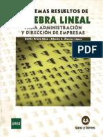 [UNED ADE] Problemas Resueltos de Algebra Lineal Para ADE - Emilio Prieto, Alberto a. Alvarez