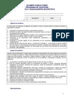 1 Programa Auditoria Efectivo y Equivalentes