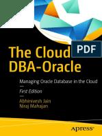 1jain a Mahajan n the Cloud DBA Oracle Managing Oracle Databa