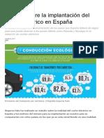 Estudio Sobre La Implantación Del Coche Eléctrico en España. Oct17