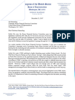 Letter of Rep. Nydia Velazquez to Chairman Jeb Hensarling