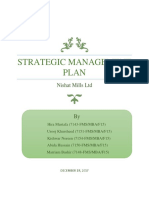 Strategic Management Plan