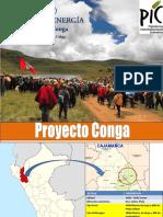 Perú Proyecto Conga Minería y Energía
