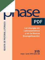 La Liturgia en El Magisterio Latinoamericano de Medellin a Aparecida
