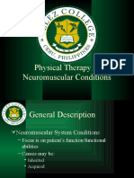 PT in Neuromuscular Conditions