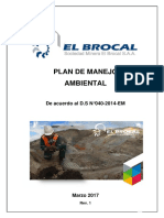 Plan de Manejo Ambiental 2017 Rev 0 (26.03.17)